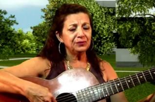 Cantora Nilza Mendes – música Triste Solidão