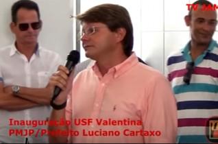"USF Vereador Josauro Paulo Neto – ""USF Integrada Valentina – Rodrigo Gondim"" – TV JAMPA – 04"