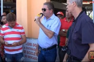"Merc Público Mun do Valentina Figueiredo ""Euclides L Cavalcante"" – Fala do Jornalista Josinato Gomes"