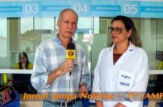 Radio Jampa na sua festa: 1° Café da manhã Especial. Faculdade Nova Esperança – FACENE Evento com a finalidade de apresentar as instalações e serviços da Unidade II