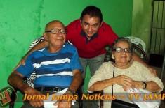 RADIO JAMPA na sua festa: Parabéns! Dona Adalgisa pelo 83º Aniversário