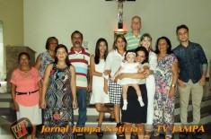 Batismo de Ian e Alice, realizado na Paróquia Nossa Senhora do Rosário – Boa Viagem