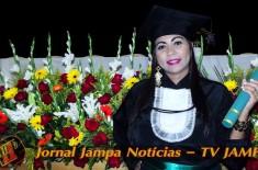 TV JAMPA na sua festa: Colação Grau de Alanne kaline do curso Serviço Social