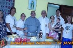 Feliz Aniversário Frei Fernando OFM Conv. Momentos na Casa de Maria – Milícia da Imaculada João Pessoa