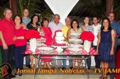RADIO JAMPA na sua festa: 40° Aniversário de matrimônio de Lurdes e Alcides. local Casa de praia em Jacumã do casal