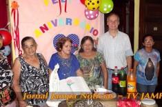 Radio Jampa na sua festa: 80º Aniversário Dª Maria José – Comemoração Milícia da Imaculada João Pessoa