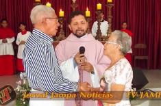 60 Anos de matrimônio de Moacir e Maria
