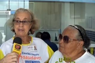 Entrevista com as usuárias da Clinica Facene Joana Pereira e Maria da Penha