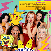 HOJE: I Love The 90s • Especial Backstreet Boys + Spice Girls • A maior festa de anos 90! • Estelita