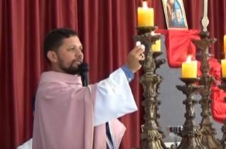 Missa Paróquia Nossa Senhora da Conceição Aparecida com Padre Valdézio Nascimento – 11/12/2016