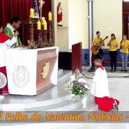 Missa Aparecida Padre Marcelo - TV Jampa - Folha do Valentina (16)