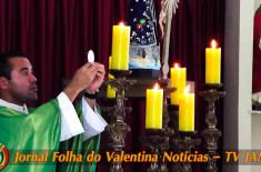 Missa celebrada  com o Padre Marcelo Monate na Paróquia Nossa Senhora da Conceição Aparecida, neste domingo, 19 de fevereiro de 2017.