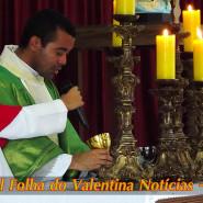 Missa Aparecida Padre Marcelo - TV Jampa - Folha do Valentina (18)