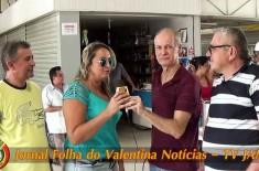 Comemoração da posse da nova diretoria do Mercado Público Municipal do Valentina Figueiredo
