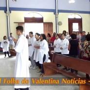 Missa de cinzas com Padre Valdézio Nascimento - 38 - tv jampa - portal folha do valentina