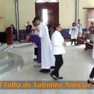 Missa de cinzas com Padre Valdézio Nascimento - 37 - tv jampa - portal folha do valentina