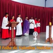 Missa de cinzas com Padre Valdézio Nascimento - 36 - tv jampa - portal folha do valentina