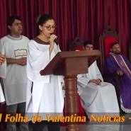 Missa de cinzas com Padre Valdézio Nascimento - 32 - tv jampa - portal folha do valentina