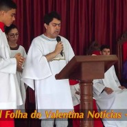 Missa de cinzas com Padre Valdézio Nascimento - 30 - tv jampa - portal folha do valentina