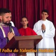 Missa de cinzas com Padre Valdézio Nascimento - 26 - tv jampa - portal folha do valentina