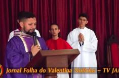 Missa de cinzas com o Padre Valdézio Nascimento – Paróquia Nossa Senhora da Conceição Aparecida