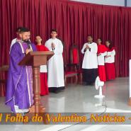 Missa de cinzas com Padre Valdézio Nascimento - 24 - tv jampa - portal folha do valentina