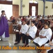 Missa de cinzas com Padre Valdézio Nascimento - 23 - tv jampa - portal folha do valentina