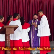 Missa de cinzas com Padre Valdézio Nascimento - 22 - tv jampa - portal folha do valentina