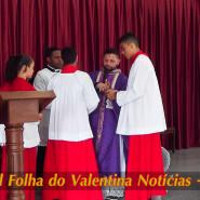 Missa de cinzas com Padre Valdézio Nascimento - 21 - tv jampa - portal folha do valentina