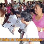 Missa de cinzas com Padre Valdézio Nascimento - 20 - tv jampa - portal folha do valentina