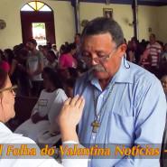 Missa de cinzas com Padre Valdézio Nascimento - 19 - tv jampa - portal folha do valentina