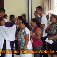 Missa de cinzas com Padre Valdézio Nascimento - 16 - tv jampa - portal folha do valentina