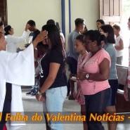 Missa de cinzas com Padre Valdézio Nascimento - 12 - tv jampa - portal folha do valentina
