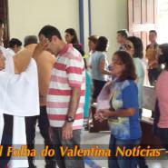Missa de cinzas com Padre Valdézio Nascimento - 11 - tv jampa - portal folha do valentina
