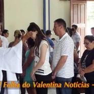 Missa de cinzas com Padre Valdézio Nascimento - 09 - tv jampa - portal folha do valentina