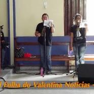 Missa de cinzas com Padre Valdézio Nascimento - 08 - tv jampa - portal folha do valentina