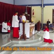Missa de cinzas com Padre Valdézio Nascimento - 07 - tv jampa - portal folha do valentina