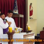 Missa de cinzas com Padre Valdézio Nascimento - 06 - tv jampa - portal folha do valentina