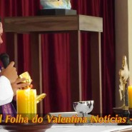 Missa de cinzas com Padre Valdézio Nascimento - 05 - tv jampa - portal folha do valentina
