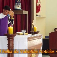 Missa de cinzas com Padre Valdézio Nascimento - 04 - tv jampa - portal folha do valentina