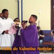 Missa de cinzas com Padre Valdézio Nascimento - 01 - tv jampa - portal folha do valentina