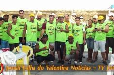 AACV – Associação Amigos e Comerciantes do Valentina, promoveu neste domingo, 5 de março, feijoada com os associados em ritmo carnavalesco