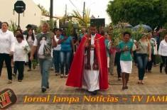 Paróquia Aparecida Valentina comemora a entrada triunfal de Jesus em Jerusalém